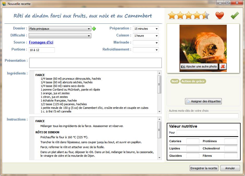 Turbo Davaus.net = Modele Fiche Recette Cuisine Word ~ Avec des idées  KE12