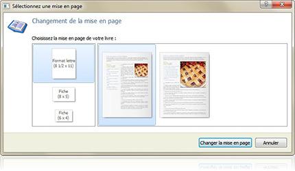 Page Livre de Recettes Créer un Livre de Recettes …